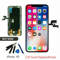 For iPhone XS OLED Display Digitizer LCD Screen Replacement Assembly Black SXQ01