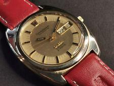 watch Omega Constellation Chronometer Camerton+Two-tone dial+dualdate pie pan