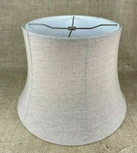 Linen Look Drum Bell Softback Lamp Shade