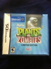 Plants Vs. Zombies with Limited Edition Yeti Figure (Nintendo DS)
