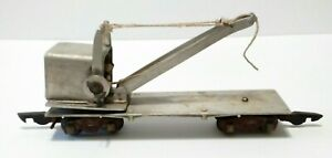 S gauge Vintage Hand crafted , Train Crane , Has American Flyer Trucks and...