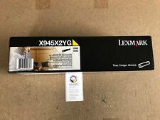 x945x2yg LEXMARK tóner amarillo para X940 y x 945 SERIE , NUEVO, emb.orig