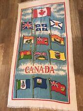 """Vintage CANADA Beach/Bath Towel Size 58""""x30"""""""