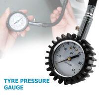 TireTek Flexi-Pro Tyre Pressure Gauge With Right Angle Motorbike Chuck FREE P&P