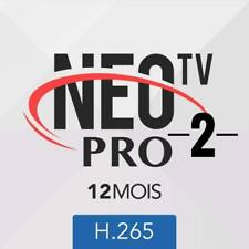 NeoTV-Pro2 Volka TV H265 IPTV 12 MOIS Android/M3u/icone/smart TV/MAG