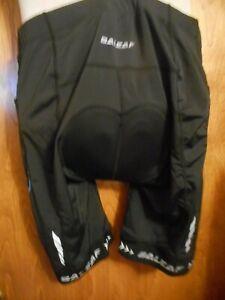Baleaf 3D Men's Cycling Shorts Black Unisex Padded  Bike NWT XL