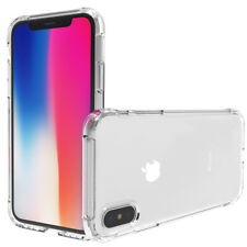 IPHONE X APPLE HOUSSE ETUI COQUE PLASTIQUE ANTICHOCS + 1 FILM DE PROTECTION