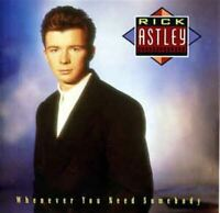RICK ASTLEY whenever you need somebody (CD, Album) Synth-pop, Electronic, Pop,