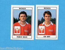 PANINI CALCIATORI 1989/90 -Figurina n.437- BOLIS+BIVI -MONZA-Recuperata