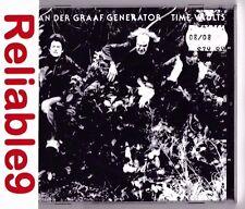 Van Der Graaf Generator - Time vaults 2008 edition CD Sealed-1992 PlasticHead EU