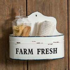Farmhouse Wall Bin Wall Pocket Magazine Rack Letter Holder Organizer