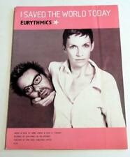 Partition sheet music EURYTHMICS : I saved the World Today * 90's