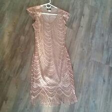 Venus gold shimmer dress size xs