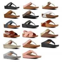 FitFlop™ Ladies Womens Summer Beach Toe Post/Cross Strap Sandals Flip Flops