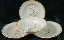 Set of Four - MIKASA - WHITE PETALS - SOUP BOWLS - Mint Condition