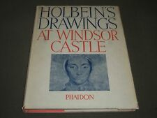 1945 HOLBEIN'S DRAWINGS AT WINDSOR CASTLE BOOK BY K. T. PARKER - KD 3898