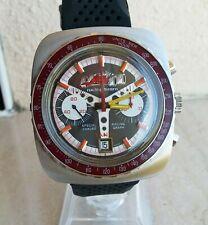 Orologio TANIS RACING TEAM RACING GRAPH ANNI '70 NOS CRONO MANUALE VALJOUX 7734