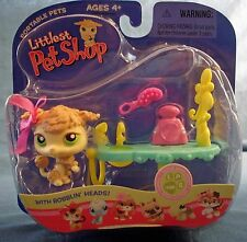 Littlest Pet Shop 146 retired poodle with grooming table new in pack