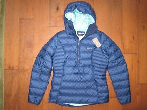 Patagonia Women's Down Sweater Hoody Puffer Pullover Jacket Small, New Tags Incl