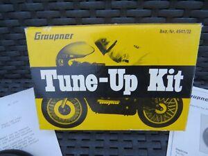 Vintage Kyosho Graupner Kraft Eleck Rider RC motorcycle Tune up kit rare set