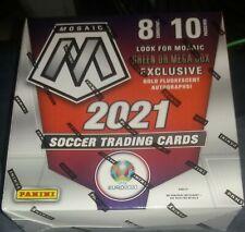 2021 Panini Mosaic UEFA Euro 2020 SOCCER Factory Sealed Mega Box