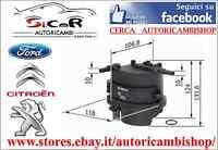 FILTRO CARBURANTE TOYOTA AYGO 1.4 HDi ORIGINALE BOSCH 0450906460
