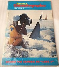 """American Cinematographer   April 1978 -  """"THE LAST WAVE"""","""" JAWS 2"""""""