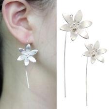 HOT HOT HOT !!! Silver Plated Long Dangle Tassel Hook Earrings Ear Women Jewelry