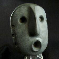 Pre-Columbian Condorhuasi-Alamito Carved Stone Mask ~ Ultra Rare Piece!