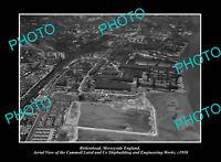 OLD POSTCARD SIZE PHOTO BIRKENHEAD MERSEYSIDE ENGLAND THE SHIP WORKS c1950 1