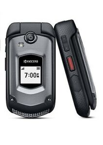 Kyocera DuraXTP E4281 - Black ( Sprint) Rugged  Flip Phone