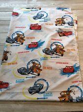 Disney Cars Lightning McQueen Matter Crib Toddler Bed Flat Sheet Finn McMissile