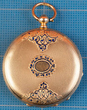 Keywind Pocket Watch Ticks Not Scrap! New listing