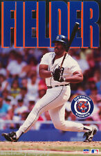 POSTER: MLB BASEBALL - CECIL FIELDER - DETROIT TIGERS  -  FREE SHIPPING ! RW13 D