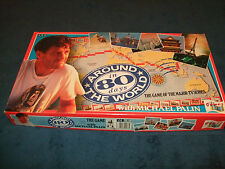 AROUND THE WORLD IN 80 DAYS FAMILY BOARD GAME BY THE GAMES TEAM 1989