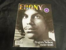 2016 JUNE EBONY MAGAZINE - PRINCE ROGERS NELSON FRONT COVER - O 6857