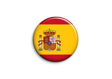 Espagne - Drapeau 1 - Badge 25mm Button Pin
