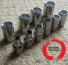 "BLUE POINT 1/4"" drive metric shallow socket set 4mm - 13mm NEW SOLD BY SNAP ON"