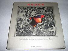 JEAN-JACQUES GOLDMAN CD LIVRE FRANCE  ROUGE