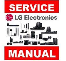 LG Home Theater Cinema, Soundbar or Blu-Ray player Service Manual