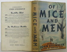 JOHN STEINBECK Of Mice and Men FIRST EDITION