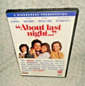 About Last Night (DVD, 1986, 2010)