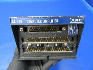 ARC CA-550 A / FD Computer Amplifier 28V 42680-0007 (1019-31)