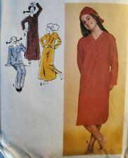 Vtg Simplicity pattern 9248 Yng Jr/Teen Nightshirt, Pajamas, Hat sz 5/6 uncut