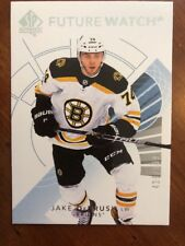 2017-18 UD Hockey SP Authentic Future Watch #155 Jake DeBrusk /999