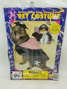 North Shore Animal League Rubie's 50317 SMALL Pirate Dog or Cat Costume 10-12""