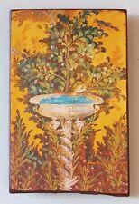 Pompeji Villa Poppaea Vogel Italien Fresko Einzelstück auf altem Ziegel 38