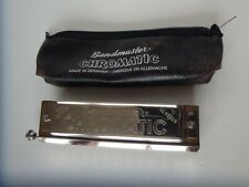 Vintage Band Master Chromatic Harmonica 40 Reeds Full Octaves Made in Germany.