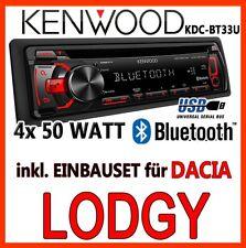 DACIA LODGY - KENWOOD Bluetooth Radio de voiture USB CD mp3 android RADIO -