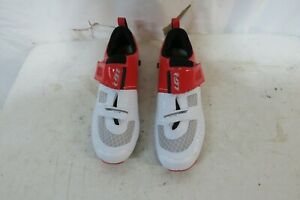 Louis Garneau Men's Tri X-Lite Triathlon 2 Shoes Red 45.5 US 11